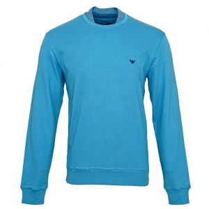Emporio Armani Loungewear Sweatshirt 111437 7A561 Blue