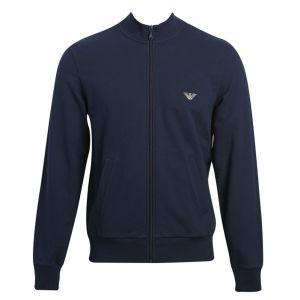 Emporio Armani Lounge Track Jacket 111570 7P571 Navy