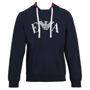 Emporio Armani Iconic Terry Loungewear Sweater 111753 8P571 Marine