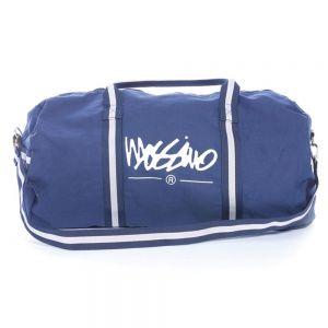 Mossimo Cam Logo Duffel Bag 7M3205 Navy
