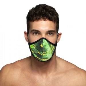 ES Collection Palms Face Mask AC096 Black