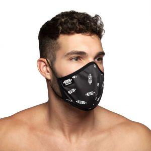 ES Collection ES Logo Face Mask AC110 Black