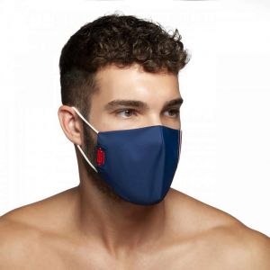 ES Collection Flag Tape Face Mask AC120 Navy