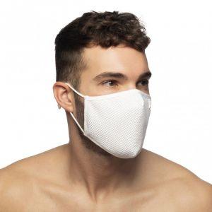 Addicted Mesh Face Mask AC136 White