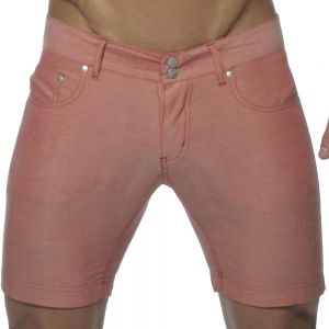 Addicted Cotton Blend Shorts AD247 Red