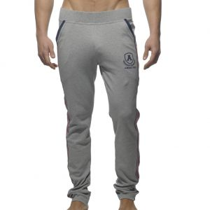 Addicted Intercotton Tight Sweat Pants AD335 Heather Grey