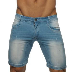 Addicted Mid Length Short AD529 Blue Jeans