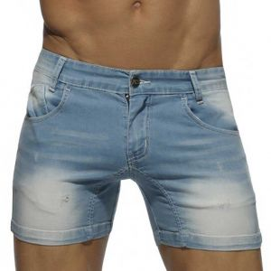Addicted Short Jeans AD530 Blue