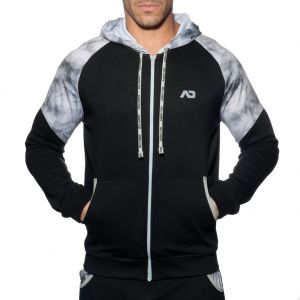 Addicted Geoback Sweatshirt AD615 Black