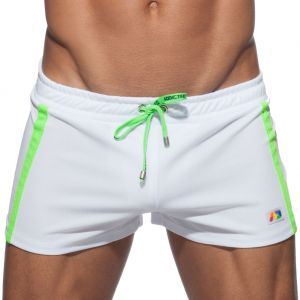 Addicted ASAP Short AD664 White