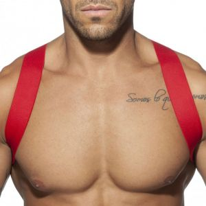 Addicted Spider Harness AD814 Red