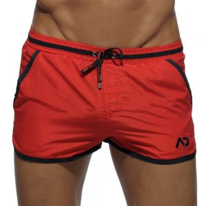 Addicted Piping Basic Swim Short ADS070 Red