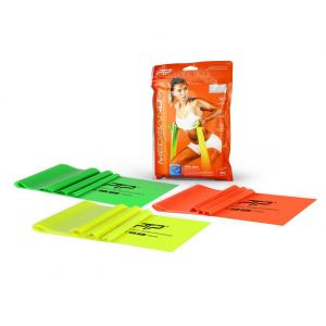 PTP MediBand Plus Pack CMB 4 Lime/Green/Orange