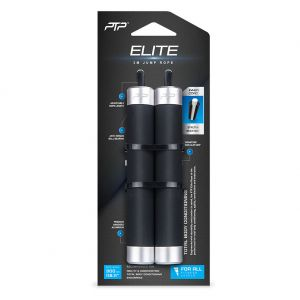 PTP Elite Jump Rope JMR1 Black