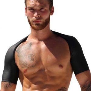 Rufskin Pax Rubberized Shoulders & Arms Accessory Matte Black
