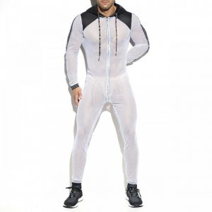 ES Collection Dystopia Mesh Suit SP205 White