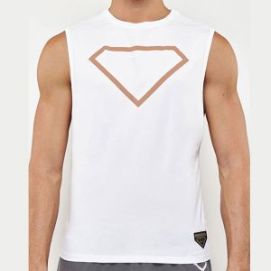 Supawear Diamond Tank Top TA11DI White