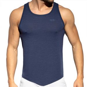 ES Collection Flame Tank Top TS284 Navy
