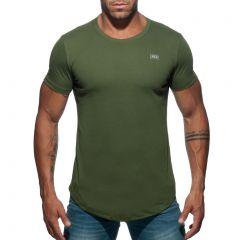 Addicted Basic U-Neck T-Shirt AD696 Khaki Mens Underwear