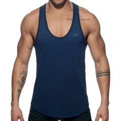 Addicted Flags Tape Swim Tank Top AD777 Navy Mens T-Shirt