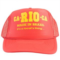 Carioca Made In Brazil Trucker Cap HMIBTRUCK Red Mens Cap