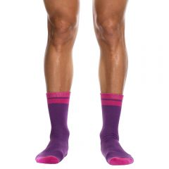 Hey Franky Play Socks HF011P Purple
