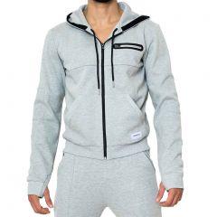 Supawear Apex Jacket JK11AP Grey Marle Mens Sportswear