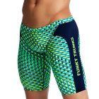 Funky Trunks Training Swim Jammers FT37M Green Gator Mens Swimwear