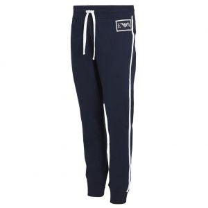 Emporio Armani Logomaniac Terry Loungewear Pants 111690 8P571 Marine