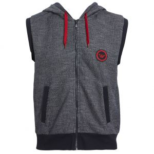 Emporio Armani Blue Terry Loungewear Sweater 111756 8P572 00135 Marine