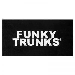 Funky Trunks Mens Sports Towel Still Black FT90