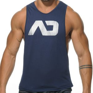 Addicted AD Low Rider Tank Top AD043 Navy