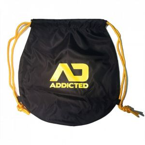 Addicted Addicted Drawstring Beach Bag AD451 Yellow