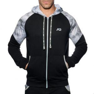 Addicted Geoback Sweatshirt AD615 Black