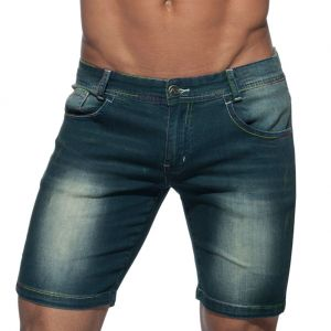 Addicted Rainbow Short Jeans AD637 Navy