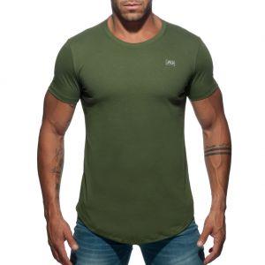 Addicted Basic U-Neck T-Shirt AD696 Khaki
