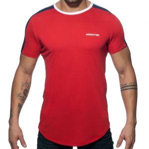Addicted Ranglan Addicted T-Shirt AD778 Red