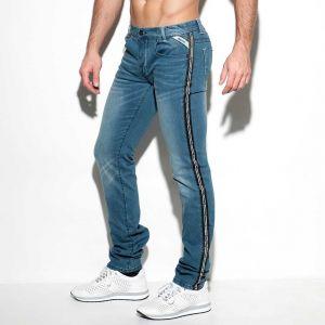 ES Collection Dystopia Tape Jeans ESJ048 Blue Jeans
