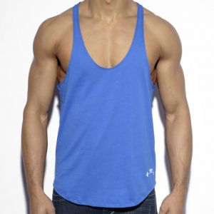 ES Collection Fitness Plain Tank TS160 Blue