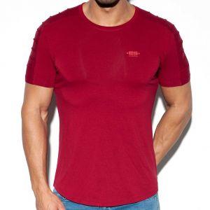 ES Collection Basic Ranglan T-Shirt TS245 Garnet