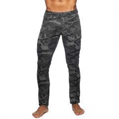 Addicted Camo Jeans AD837 Grey Camo Mens Pants
