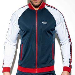 ES Collection Bon Voyage Jacket SP206 Navy Mens Sportswear